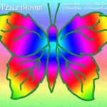 Peace BroomLeafButrflyRnbw
